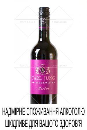 Вино безалкогольне Carl Jung Merlot 0,75 л