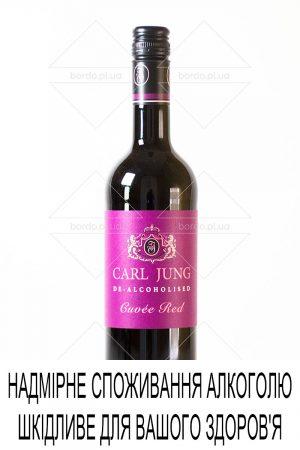 Вино безалкогольне Carl Jung Cuvee Red 0,75 л