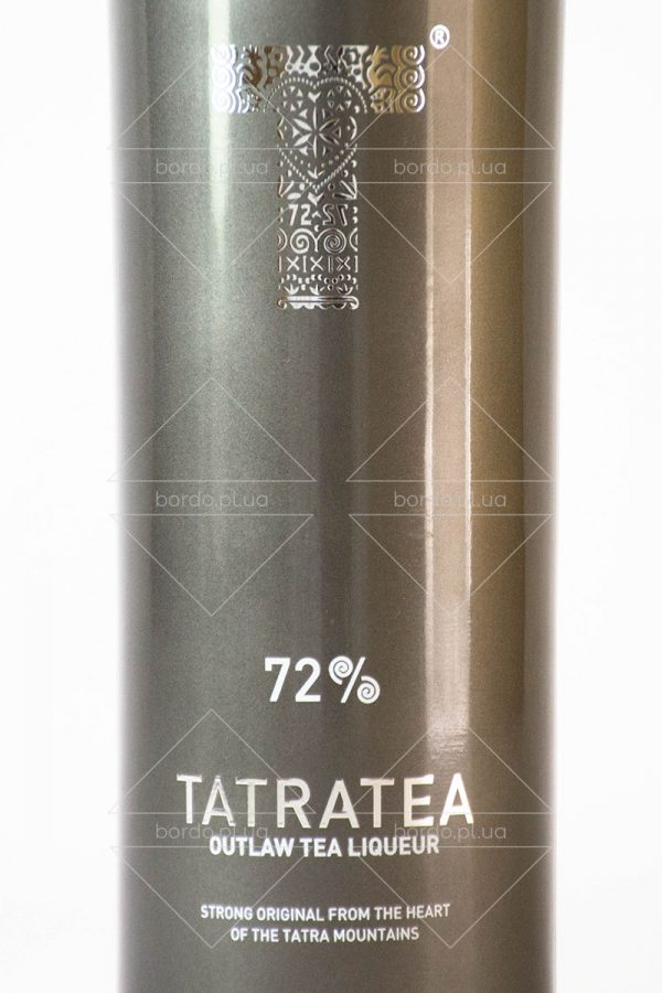 Лікер Tatratea Outlaw Tea Liqueur 72% 0,5 л